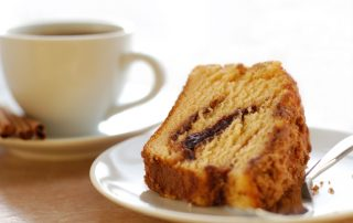Coffee tea cake