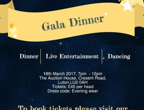 Join us at our Gala Dinner!