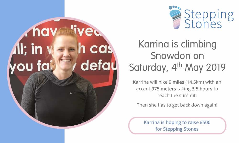 Karrina hike up Snowdon