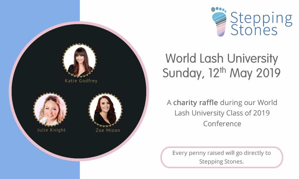 World Lash University Charity Raffle