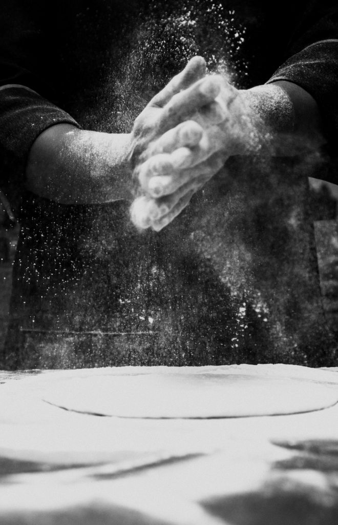 chef baking
