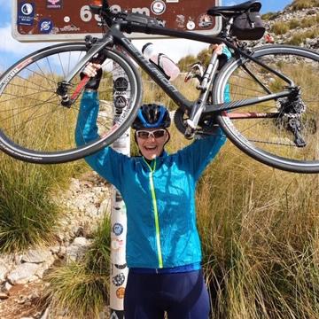 Nicola Panton -charity bike challenge