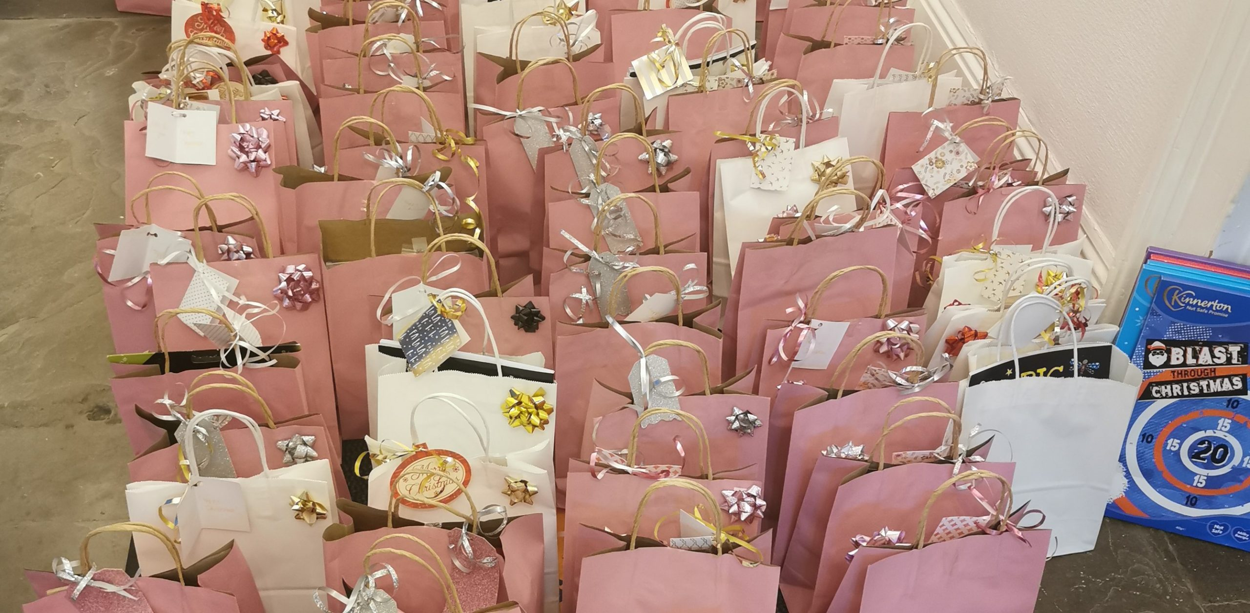 Barton Christmas gift bags