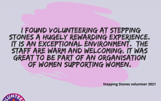Quote from a volunteer